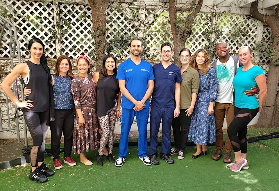 Roy Kimia Benson Simmonds kimia wellness team holistic therapy acupuncture clinic
