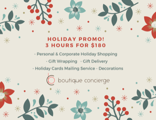 Holiday Package 2020 Promo Postcard