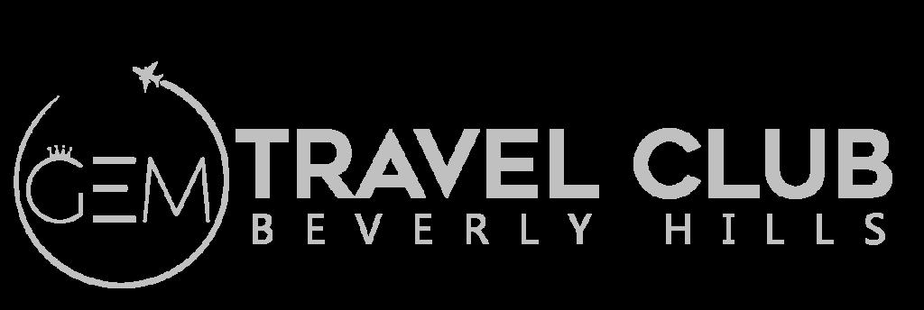 GEM Travel Club Beverly Hills logo Silver 1